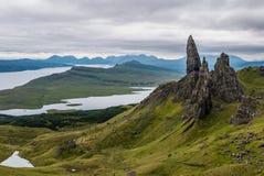 Le vieil homme de Storr, Skye Images libres de droits