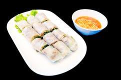 Le Vietnam a cuit le petit pain à la vapeur de ressort Image libre de droits