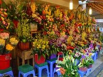 Le Vietnam - Hanoï - fleurs à vendre Photo stock
