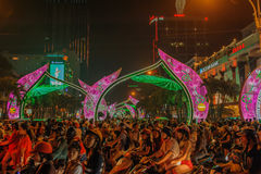 Le Vietnam - Ho Chi Minh City - Saigon Photo stock