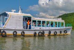 Le Vietnam, Nha Trang : Embarcation de plaisance images stock