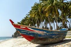 Le Vietnam, port de pêche de Phan Thiet Image libre de droits