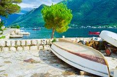 Le vieux bateau Photo libre de droits