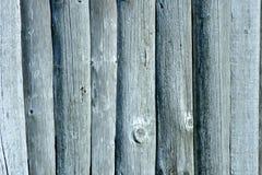 Le vieux bois a couvert le mur image stock