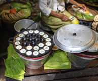 Le vieux bonbon thaïlandais traditionnel Images stock