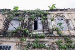Le vieux bureau de douane, Thaïlande images stock