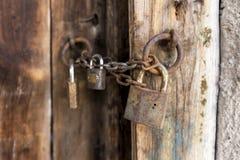 Le vieux cadenas Photographie stock