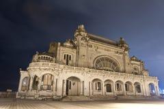 Le vieux casino dans Constanta, Roumanie Images stock
