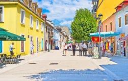 Le vieux Cetinje photo stock