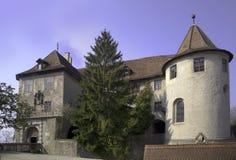 Le vieux château de Meersburg photo libre de droits