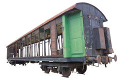 Le vieux chariot Image stock