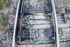 Le vieux chemin de fer Photographie stock libre de droits