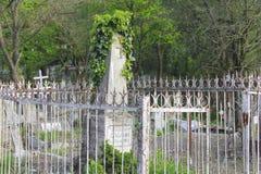 Le vieux cimetière Partie historique de Pyatigorsk Images stock