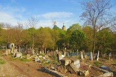 Le vieux cimetière Partie historique de Pyatigorsk Photo stock