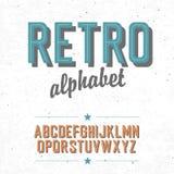 Le vieux cinéma a dénommé l'alphabet illustration libre de droits