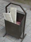Le vieux clavier dans les déchets Photo libre de droits