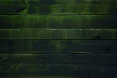 Le vieux conseil avec de la mousse La texture en bois Photographie stock