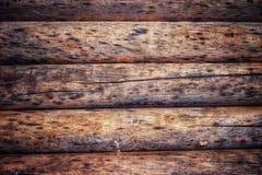 Le vieux cru a arrondi le fond en bois de papier peint de HD image libre de droits