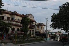 Le vieux Cuba Images libres de droits