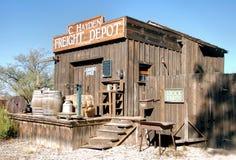 Le vieux dépôt Photographie stock