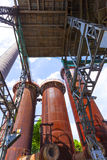 Le vieux fer fonctionne des monuments Image stock