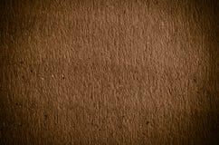 Le vieux fond de papier brun Image stock