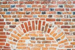 Le vieux fond de texture de mur de briques Images stock
