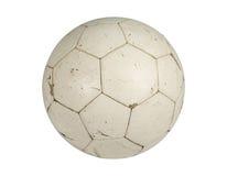 Le vieux football Photo libre de droits