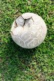 Le vieux football Photos libres de droits