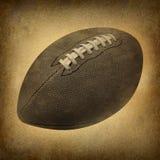 Le vieux football grunge Images libres de droits