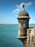 Le vieux fort à San Juan Image stock