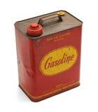 Le vieux gaz peut Photographie stock