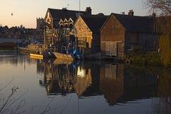 Le vieux grenier Wareham Dorset Images libres de droits