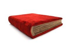 Le vieux livre rouge. Image libre de droits