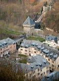 Le vieux Luxembourg Images libres de droits