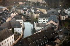 Le vieux Luxembourg Photographie stock libre de droits