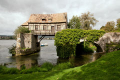 Le vieux moulin Photo libre de droits
