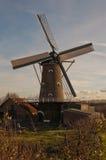 Le vieux moulin dans la hameau hollandaise Oudemolen image libre de droits