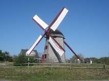 Le vieux moulin dans Nantucket Images libres de droits