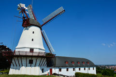 Le vieux moulin de Dybbol, Danemark Image libre de droits