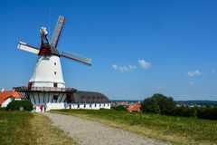 Le vieux moulin de Dybbol, Danemark (3) Photo stock