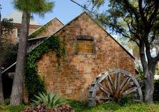Le vieux moulin Restayrant Image libre de droits