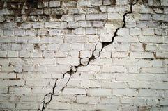 Le vieux mur criqué Photos libres de droits