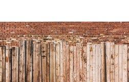 Le vieux mur de briques, milieux, textures de brique photo libre de droits