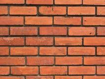 Le vieux mur de briques rouge photos stock