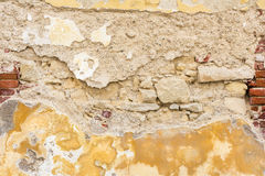 Le vieux mur de maison rénovent Photos stock