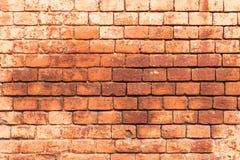 Le vieux mur de monast?re construit de la brique rouge, texture de brique, peut ?tre utilis? pour la conception int?rieure image libre de droits