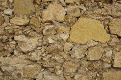 Le vieux mur en pierre apprête des milieux de texture, la texture 18 Images libres de droits