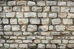 Le vieux mur en pierre apprête des milieux de texture, la texture 14 Photo libre de droits
