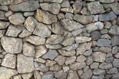 Le vieux mur en pierre apprête des milieux de texture, la texture 10 Photographie stock libre de droits